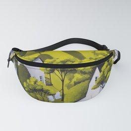 Country Wash - folk art landscape Fanny Pack