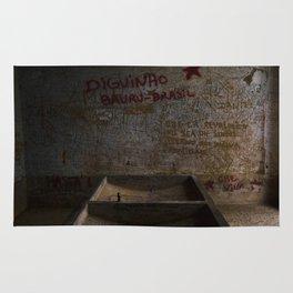 La salle de lavage de Vallegrande Hôpital // The Laundry Room of Vallegrande Hospital Rug