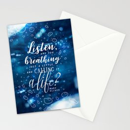 Listen Stationery Cards