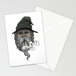 Haldor the Wizard (in color) Stationery Cards
