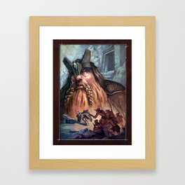 Kingdom of the Felsen Framed Art Print