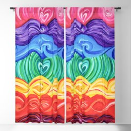 Chakra Art Blackout Curtain
