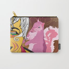Candy Colored Frown Carry-All Pouch