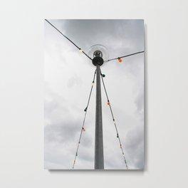 lampen Metal Print
