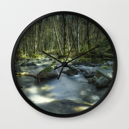 A Companionable Solitude Wall Clock