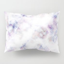 The pattern of blue marble with a red tint Pillow Sham