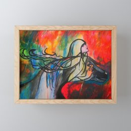 Chasing The Rain  #society6 #decor #buyart Framed Mini Art Print