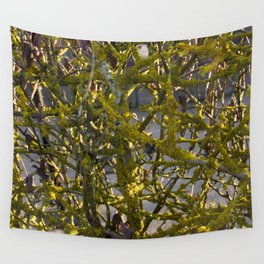 Moss in the Spring Wall Tapestry