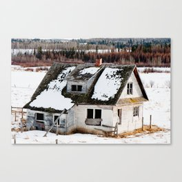 Usona Farm House 4 Canvas Print