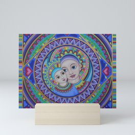Mother and Child Mandala Mini Art Print