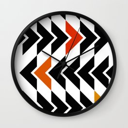 Arrows Graphic Art Design Wall Clock