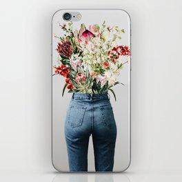 Bottomless Bouquet iPhone Skin