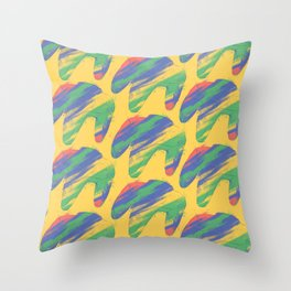 Nintendo 64 controllers (Colors) Throw Pillow