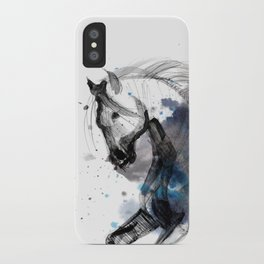 Horse (Storm) iPhone Case