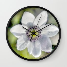 Frost covered ... Wall Clock