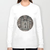 castle Long Sleeve T-shirts featuring Castle by Design Windmill