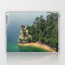 Miners Castle rock formation Laptop & iPad Skin