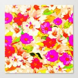 Floral texture Canvas Print
