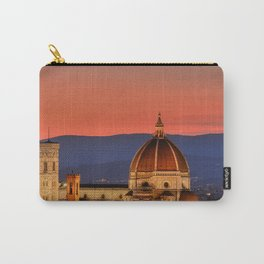 Duomo Santa Maria Del Fiore at sunset in Florence, Tuscany, Italy Carry-All Pouch