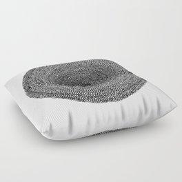 Circle / Semi Circles Floor Pillow
