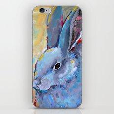 Be Still - Rabbit Bunny Fine Art iPhone Skin