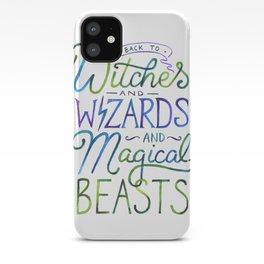 AVPM - Back To Hogwarts iPhone Case