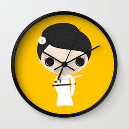 O-Ren Ishii Wall Clock