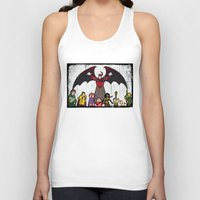 dungeons and dragons Tank Tops featuring DUNGEONS & DRAGONS by Zorio