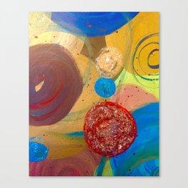Bubble.Pop Canvas Print