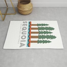Sequoia National Park California Design for the outdoors lover! Rug