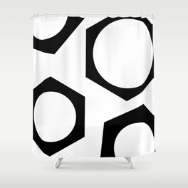Nutz #abstract Shower Curtain
