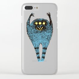 duty monster Clear iPhone Case