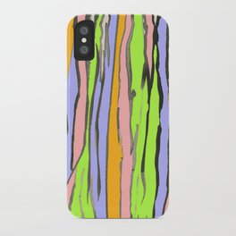 Dripping Dreams-Pink, ink painting, digital iPhone Case
