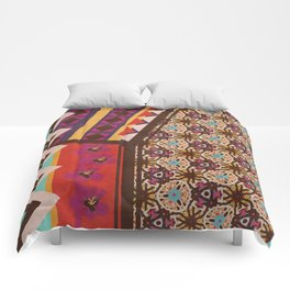 Zimbabwe Multi With Texture Comforters