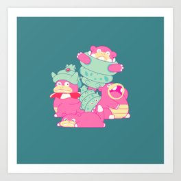 Slow Your Role Art Print