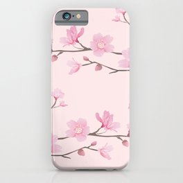 Cherry Blossom - Pink iPhone Case