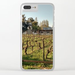 Chilean Vine Clear iPhone Case