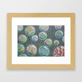 Many Worlds Framed Art Print