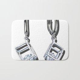 Favorite earrings Bath Mat