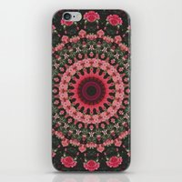 spiritual iPhone & iPod Skins featuring Spiritual Rhythm Mandala by Elias Zacarias