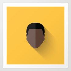 Finn Flat Design Art Print