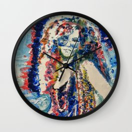 Nearly Faded As My Jeans Wall Clock