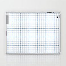 Dotted Grid Weave Blues Laptop & iPad Skin