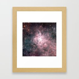 You are made of Stardust Framed Art Print