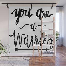 warrior Wall Mural