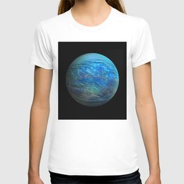 Globe17/For a round heart T-shirt