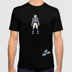 ColtStrong - Andrew Luck Mens Fitted Tee Black MEDIUM