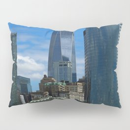 Manhattan View From Hudson River Pillow Sham