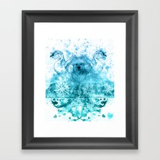 The Blizzard Framed Art Print