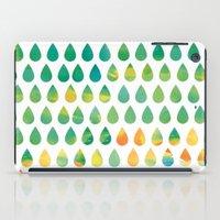 rain iPad Cases featuring Monsoon Rain by Picomodi